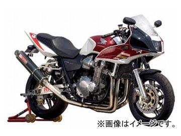2輪 ヤマモトレーシング spec-A マフラー TI4-1 UP-TYPE カーボン 品番:11304-11UCB ホンダ CB1300SF 2003年~2007年