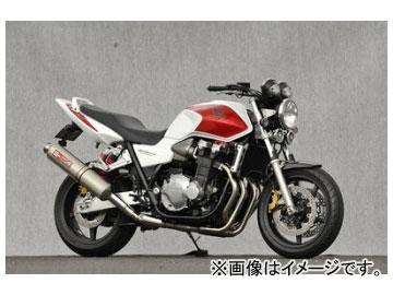 2輪 ヤマモトレーシング spec-A マフラー SUS SLIP-ON チタン 品番:11304-01NTB ホンダ CB1300SF 2003年~