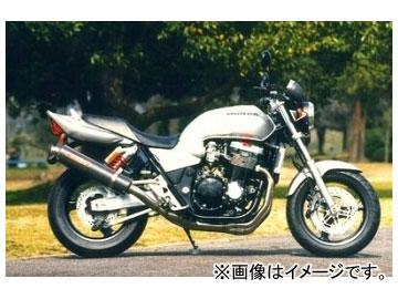 2輪 ヤマモトレーシング spec-A マフラー TI4-2-1 カーボン 品番:11303-21TCB ホンダ CB1300SF ~2002年