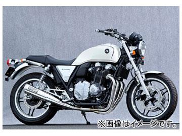 2輪 ヤマモトレーシング spec-A マフラー SUS4-1 メガホン 品番:11103-11MSN ホンダ CB1100