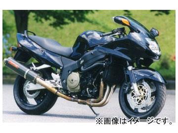2輪 ヤマモトレーシング spec-A マフラー TI4-2-1 カーボン 品番:11100-21TCB ホンダ CBR-XX ~2002年