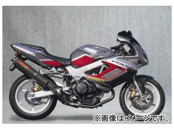 2輪 ヤマモトレーシング spec-A マフラー SUS2-1-2 カーボン 品番:11002-52SCB ホンダ VTR1000F