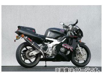 2輪 ヤマモトレーシング spec-A マフラー SUS4-2-1 UP-TYPE カーボン98×416 品番:10403-21SCR ホンダ CBR400RR 1990年~