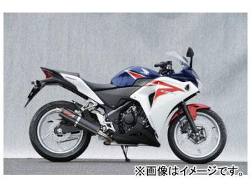 2輪 ヤマモトレーシング spec-A マフラー SUS フルエキ カーボン 品番:10261-71SCC ホンダ CBR250R 2011年~