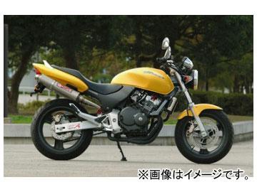 2輪 ヤマモトレーシング spec-A マフラー SUS SLIP-ON TWIN チタン 品番:10253-02NTN ホンダ ホーネット250