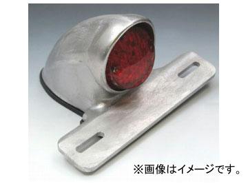 2輪 EASYRIDERS イーブル スキャロップテールライト LED 赤レンズ 品番:5878-R JAN:4548632132530