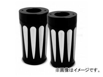 2輪 EASYRIDERS ARLEN NESS Deep cut フォークブーツセット ブラック 品番:AN4922 JAN:4548632142812 HD FLHX 2006年~
