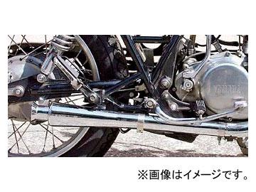 2輪 EASYRIDERS スリップオン ショートメガホンマフラー ショーティータイプ 品番:NT0838 JAN:4548632044987 ヤマハ SR400 ~2008年
