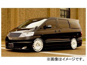 ギャルソン D.A.D ZX サイドステップ&ドアパネル トヨタ アルファード ANH/MNH