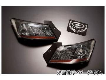ギャルソン クリスタル&レッドテールレンズ(LEDスモーク) GE010-67 トヨタ bB QNC2#