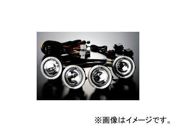ギャルソン D.A.D ZR ハイパー4LEDリング フォグランプキット 4ユニット ホンダ オデッセイ RB3,4