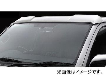 シルクブレイズ ミニバンFT フロントルーフスポイラー 未塗装 トヨタ ハイエース/レジアスエース