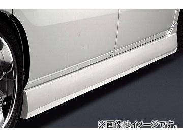 シルクブレイズ ミニバン サイドステップ 純正色(ソリッドカラー/ミラノレッド[R81]) ホンダ エリシオン RR1/2 X/G/M/VZ/VX/VG 前期 2004年05月~2006年11月