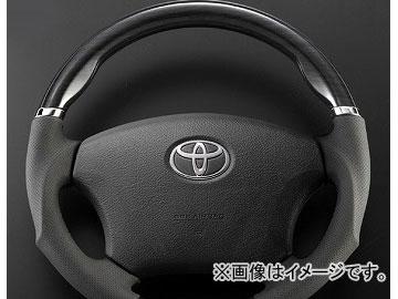 シルクブレイズ スポーツステアリング タイプSD 黒木目 トヨタ ハイエース/レジアスエース TRH/KDH200系