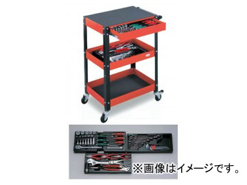 【時間指定不可】 全53点 アクティブキャビンセット 品番:TCH6000SV:オートパーツエージェンシー2号店 トネ/TONE-DIY・工具