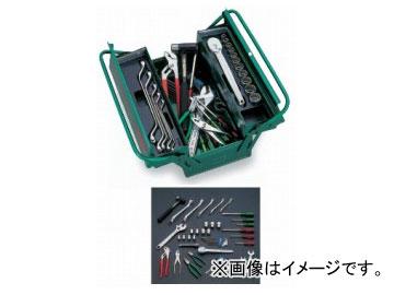 絶妙なデザイン 全46点 トネ/TONE 品番:700S:オートパーツエージェンシー2号店 ツールセット-DIY・工具