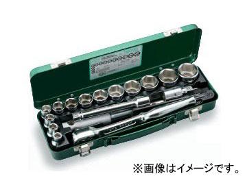 """トネ/TONE 12.7mm(1/2"""") ソケットレンチセット 17点 品番:760MS"""