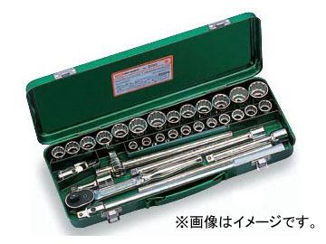 """トネ/TONE 12.7mm(1/2"""") ソケットレンチセット 32点 品番:550"""