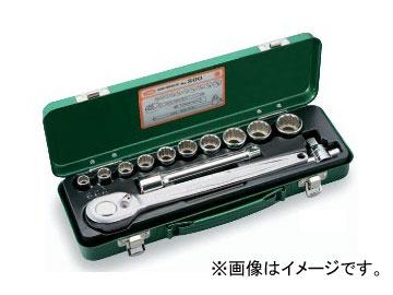 """トネ/TONE 12.7mm(1/2"""") ソケットレンチセット 13点 品番:800"""