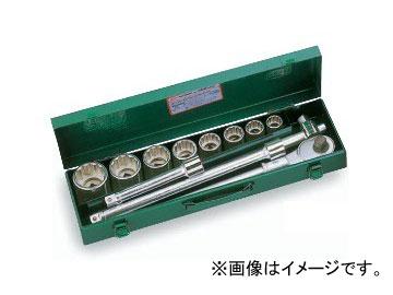 """トネ/TONE 19.0mm(3/4"""") ソケットレンチセット 12点 品番:200M ISO"""