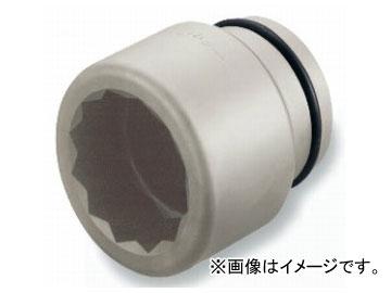 """トネ/TONE 63.5mm(2 1/2"""") インパクト用ソケット(12角) 品番:20AD-75"""