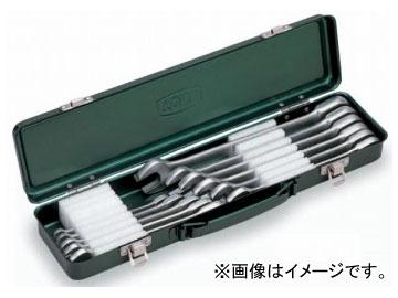 トネ/TONE ラチェットめがねレンチセット 11点 品番:RM110