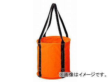 コヅチ 大型電工用バケツ KB-02-40 BOR オレンジ φ400×W400mm JAN:4934053030072