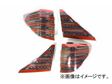 ヴァレンティ LEDテール TT20VA-SB-RC-1 ライトスモーク/ブラッククローム×レッドクローム トヨタ アルファード/ヴェルファイア ANH/GGH2# JAN:4580277380396