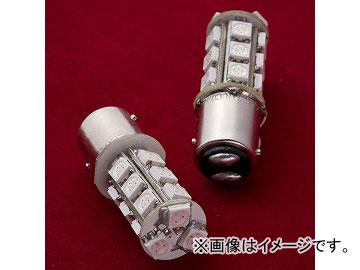 ヴァレンティ LEDバルブ S25ダブル S25W-R1854-1 レッド JAN:4580277385087