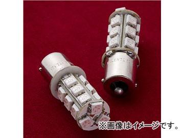 ヴァレンティ LEDバルブ S25シングル S25S-R1854-1 レッド JAN:4580277385070