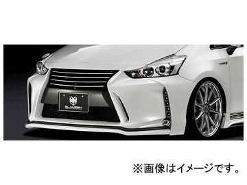 シルクブレイズ GLANZEN フロントバンパー 未塗装 GL-40PMC-FB トヨタ プリウスα ZVW40/41W 後期 2014年12月~