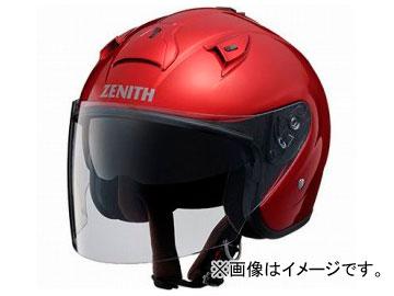 2輪 ワイズギア ヘルメット YJ-14 ZENITH キャンディーレッド