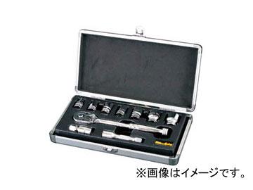 """スエカゲツール Pro-Auto 3/8"""" 10PC. ソケットレンチセット No.SL-3810S JAN:4989530605076"""