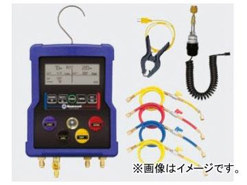 タスコジャパン 多機能型(温度・圧力・真空)デジタルゲージマニホールド TA122ZB