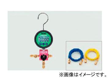 タスコジャパン ボールバルブ式デジタルシングルゲージマニホールドキット TA123DZ-1
