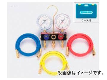 タスコジャパン ボールバルブ式ゲージマニホールドキット TA124EKH-2