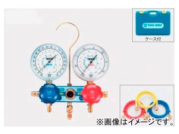 タスコジャパン カーエアコン用ゲージマニホールドキット TA126-1