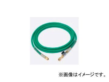 タスコジャパン バルブ付耐圧ホース(1/4Fメス×1/4Fメス) TA381KB-5