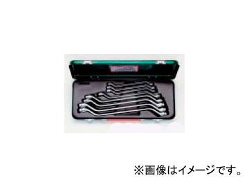 タスコジャパン メガネレンチセット(45°) (8本組) TA734WX