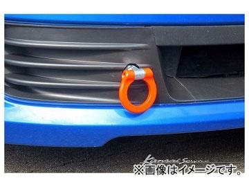 Kansaiサービス フロントフック(可倒式) オレンジ KHF013 スバル インプレッサ GRB 2007年10月~2010年06月