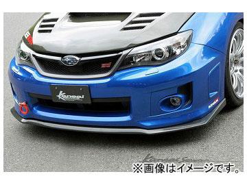 Kansaiサービス カーボンフロントリップ KAF050 スバル インプレッサ GVB 2010年07月~