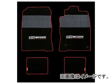 無限 スポーツマット ブラック×レッド 08P15-XLT-K1S0-RD ホンダ CR-Z