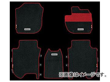 無限 スポーツマット ブラック×レッド 08P15-XMV-K0S0-RD ホンダ シャトル