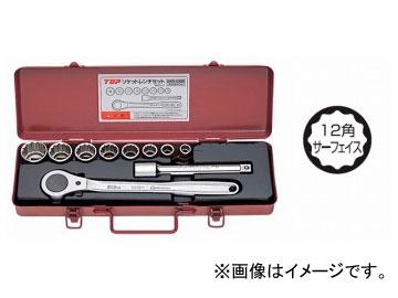 トップ工業/TOP ソケットレンチセット(差込角12.7mm) SWS-408M JAN:4975180780348