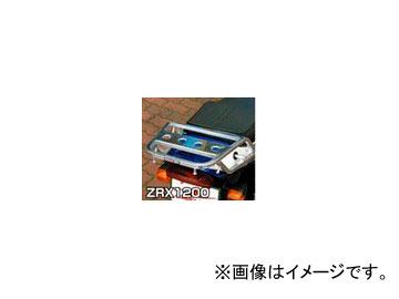 2輪 ラフ&ロード RALLY591 スーパーライトキャリア アルミバフ仕上げ RY591K01 カワサキ ZRX1200/S/R