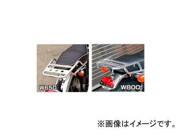 2輪 ラフ&ロード RALLY591 スーパーライトキャリア アルミバフ仕上げ RY591K07 カワサキ W800/W650/W400