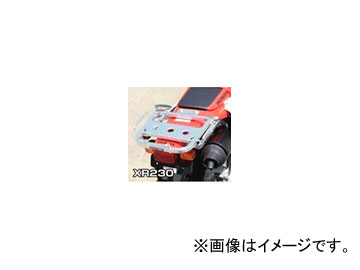2輪 ラフ&ロード RALLY591 スーパーライトキャリア アルミバフ仕上げ RY59124 ホンダ XR230 ~2007年