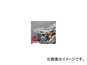 2輪 ラフ&ロード RALLY591 スーパーライトキャリア アルミバフ仕上げ RY59113 カワサキ スーパーシェルパ