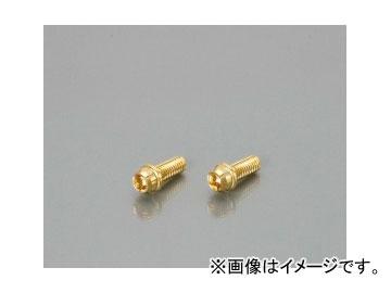 2輪 キタコ ビビッドボルト 直送商品 70%OFFアウトレット 24kコーティング M6×P1.0×12mm 0901-060-00001 入数:2個 JAN:4990852081387 24k