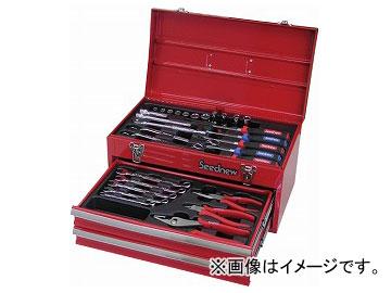 Seednew/シードニュー 39PC 9.5角工具セット 赤 S-39310